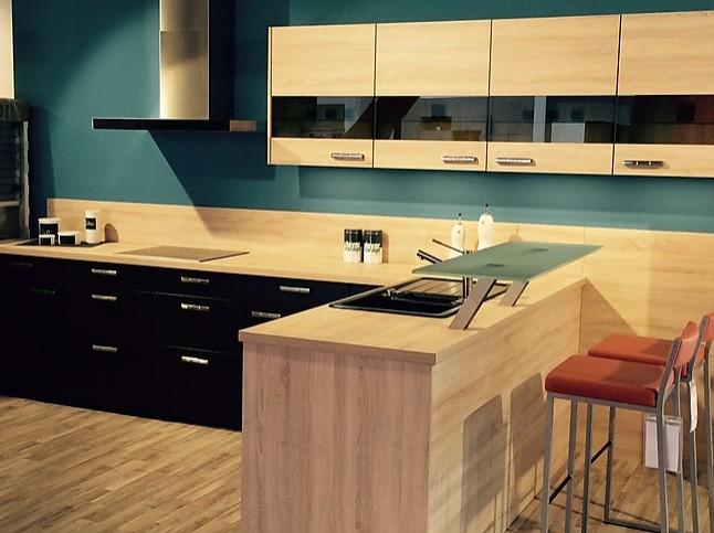 nobilia musterk che l k che mit theke ausstellungsk che in biberach von k chentreff biberach. Black Bedroom Furniture Sets. Home Design Ideas