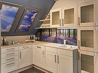 nolte musterk che stilvolle designk che in u form ausstellungsk che in garbsen von m bel hesse gmbh. Black Bedroom Furniture Sets. Home Design Ideas