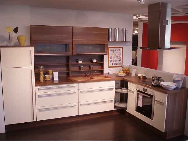 nobilia musterk che moderne farbkombination praktische l k che ausstellungsk che in grimma. Black Bedroom Furniture Sets. Home Design Ideas