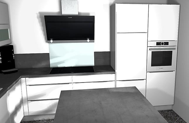nobilia musterk che hochglanz k che mit bosch ger ten und. Black Bedroom Furniture Sets. Home Design Ideas