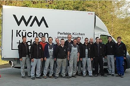 Das WM-Küchen Service-Team