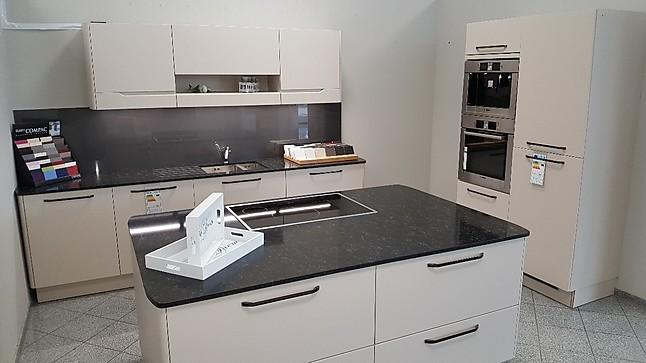 Altano wing design design küche mit großer kochinsel