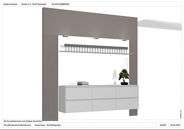 Bulthaup Karlsruhe bulthaup musterküche wandhängendes möbel element rücknahme v kunden