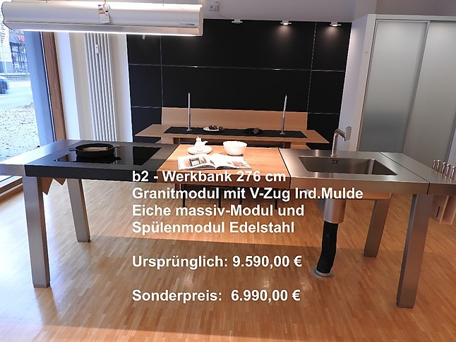 bulthaup musterk che b2 werkbank ausstellungsk che in mainz von bulthaup magenheimer. Black Bedroom Furniture Sets. Home Design Ideas