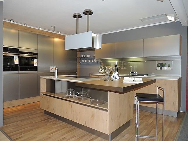 Küchen Lingen ballerina musterküche holz trifft metall wunderschöne küche mit