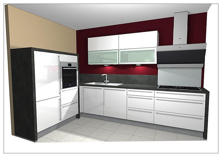 nobilia musterk che hochglanz lack wei ausstellungsk che in diez von k chenfachmarkt guhr. Black Bedroom Furniture Sets. Home Design Ideas