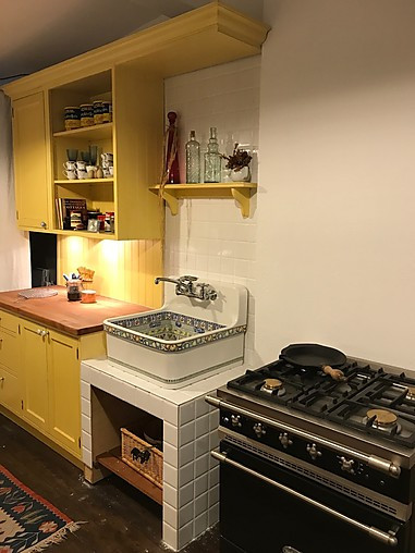 Top Schreinerküche-Musterküche Landhaus Küche im englischen Stil AB81