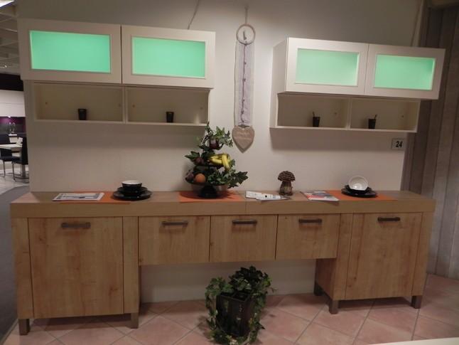 Nobilia Musterkuche Eiche Provence 698 Ausstellungskuche In Wurzen