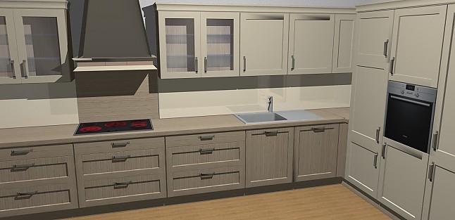 nobilia musterk che moderne landhausk che inkl aller siemensger ten ausstellungsk che in. Black Bedroom Furniture Sets. Home Design Ideas