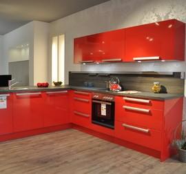 nobilia musterk che lack magma hochglanz ausstellungsk che in kalletal von m belhaus kramer. Black Bedroom Furniture Sets. Home Design Ideas