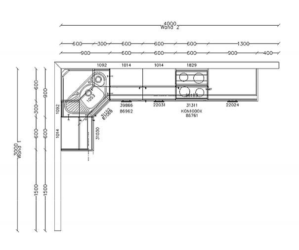 Nobilia-Musterküche Moderne Küche für Plattenbau WBS 70 1 ...