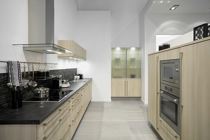 Pronorm cm 705 akazie hell moderne küche in akazie hell