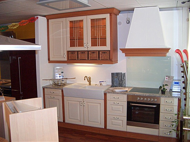 bauformat musterk che romantische landhausk che. Black Bedroom Furniture Sets. Home Design Ideas