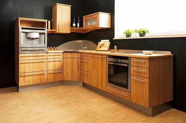 pfister naturholzk chen musterk che massivholzk che ausstellungsk che in angelbachtal von. Black Bedroom Furniture Sets. Home Design Ideas