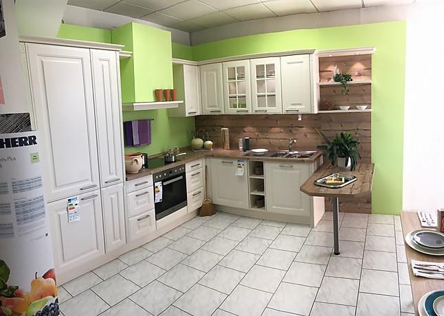 Bauformat Musterkuche Moderne Landhauskuche In Magnolia Zum