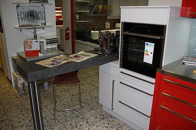 Nobilia-Musterküche exclusive L-Küche mit hochwertigen Neff ... | {Die kochprofis-küche 96}