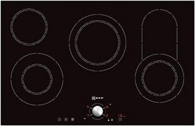 kochfeld ausstellungsceranfeld f r fl chenb ndigern einbau neff t5583x0 neff twistpad. Black Bedroom Furniture Sets. Home Design Ideas