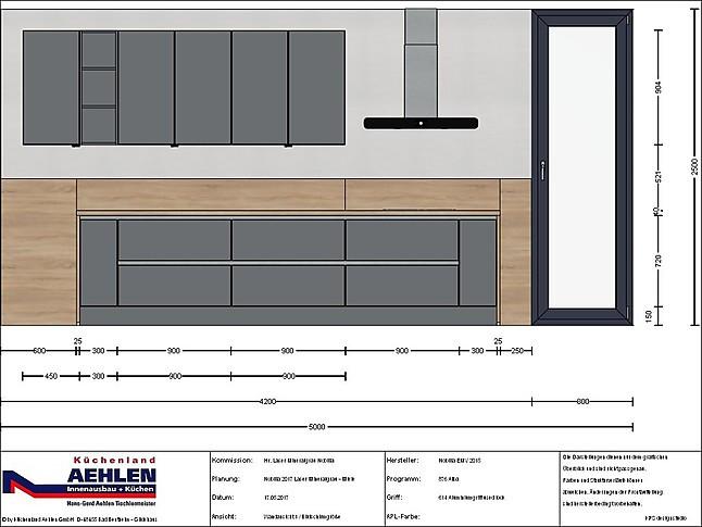 nobilia musterk che nobilia mit miele 615 laser in ausfg. Black Bedroom Furniture Sets. Home Design Ideas