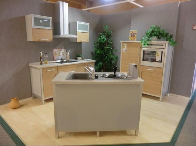 bauformat Musterküche moderne Modul Küche im