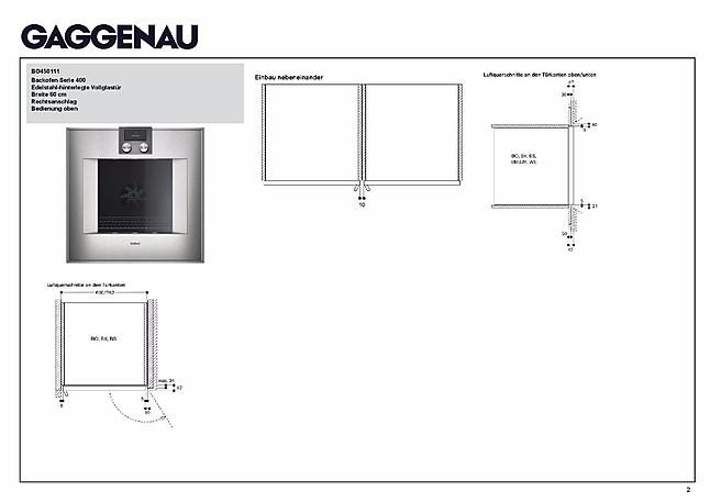 backofen bo 450 111 backofen mit automatischer t r ffnung und selbstreinigung gaggenau. Black Bedroom Furniture Sets. Home Design Ideas