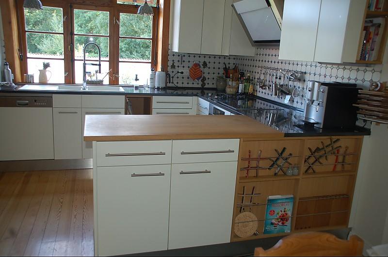 k che optisch sehr ansprechend und funktional k che von schnickschnack aus jork. Black Bedroom Furniture Sets. Home Design Ideas