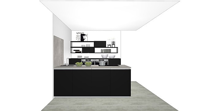 nolte musterk che ausstellungsk che ohne ger te sp le und armatur nolte k chen. Black Bedroom Furniture Sets. Home Design Ideas