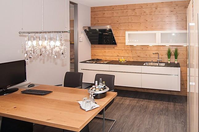 h cker musterk che moderne designer k che grifflos kombiniert mit stangengriff. Black Bedroom Furniture Sets. Home Design Ideas