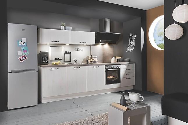 sonstige musterk che betonoptik einbauk che mit skandinavischer eiche ausstellungsk che in. Black Bedroom Furniture Sets. Home Design Ideas