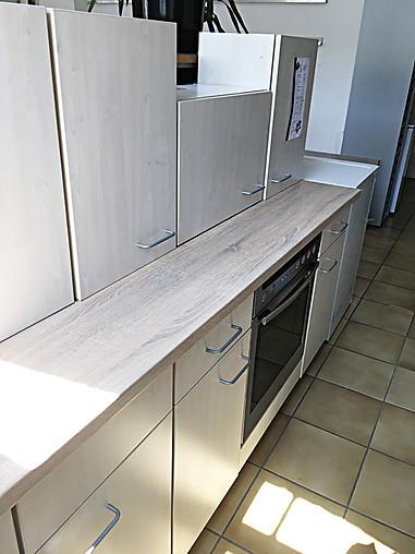 Hausmarke-Musterküche Kleine Küchenzeile/ Front Ahorn