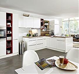 nobilia musterk che laser sand ausstellungsk che in. Black Bedroom Furniture Sets. Home Design Ideas