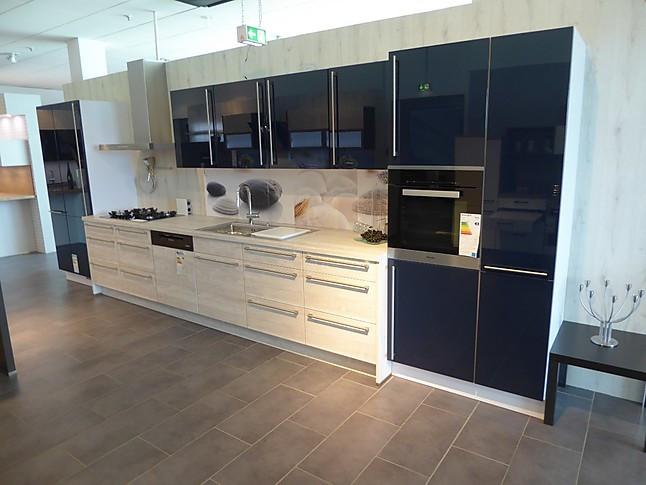 nobilia musterk che ausstellungsk che ohne elektroger te. Black Bedroom Furniture Sets. Home Design Ideas