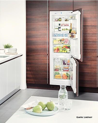 Kühlschrank Integrierbare TOP KühlGefrier Kombination mit