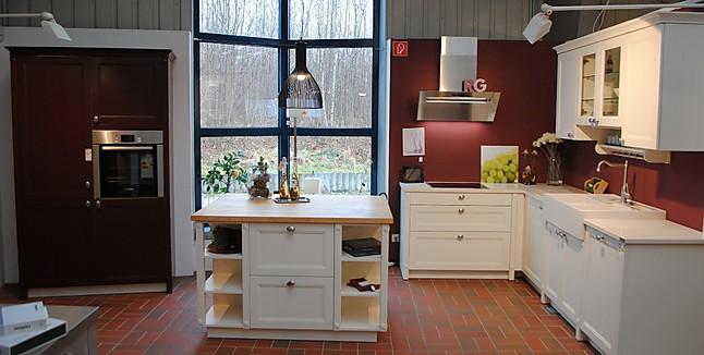 sch ller musterk che landhausk che esche magnolia k che mit echtholzfront ausstellungsk che in. Black Bedroom Furniture Sets. Home Design Ideas