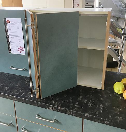 Sonstige-Musterküche Zeitlose Küchenzeile In Petrol (Grün