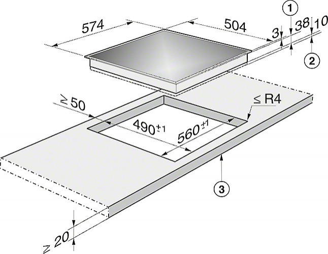 kochfeld km 6013 miele kombinations ceran kochfeld miele k chenger t von miele maier in ravensburg. Black Bedroom Furniture Sets. Home Design Ideas