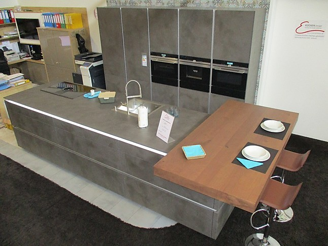 Nolte arbeitsplatte zement anthrazit for Arbeitsplatte nolte kuchen