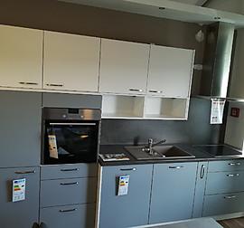 Häcker-Musterküche Moderne Küchenzeile: Ausstellungsküche in ...