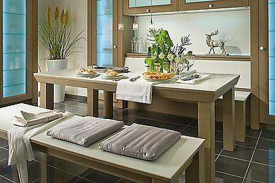 Gemütliche Sitzgruppe für eine Wohnküche
