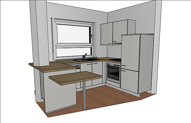 nobilia musterk che einbauk che magnolia matt apl eiche. Black Bedroom Furniture Sets. Home Design Ideas
