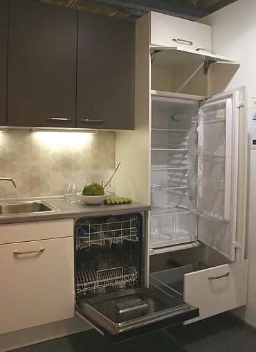 Optift-Musterküche Musterküchenverkauf! L-Küche Weiß matt und ...
