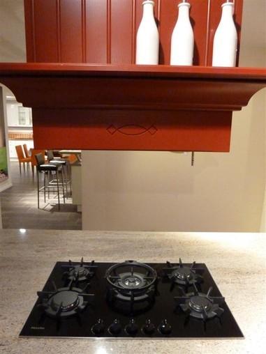 Global Küchen-Musterküche Rote Traumküche - massiv reduziert ...