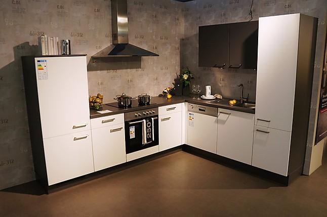 nobilia musterk che k chen block 465cm mit sp lmaschine. Black Bedroom Furniture Sets. Home Design Ideas