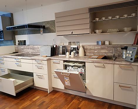Häcker einbauküche häcker av 6000 kaschmir lack matt