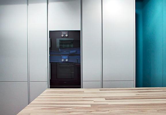 poggenpohl-musterküche moderne küche weiß lackiert, Hause ideen