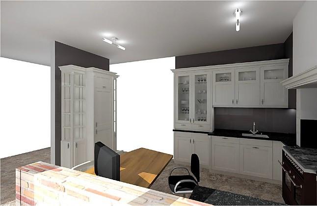 bax musterk che gro e gem tliche cornwall landhausk che echtholz lackiert mit ilve nostalgie. Black Bedroom Furniture Sets. Home Design Ideas