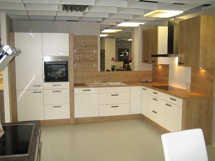 nobilia musterk che wei matt eiche provence nb ausstellungsk che in diez von. Black Bedroom Furniture Sets. Home Design Ideas