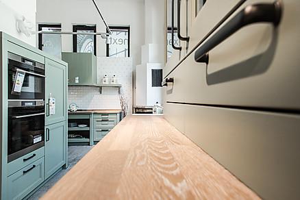 Küchenarbeitsplatte in Holz-Optik