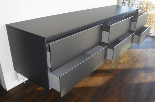 bulthaup musterk che sideboard wandh ngend als k chen oder wohnraumerg nzung ausstellungsk che. Black Bedroom Furniture Sets. Home Design Ideas