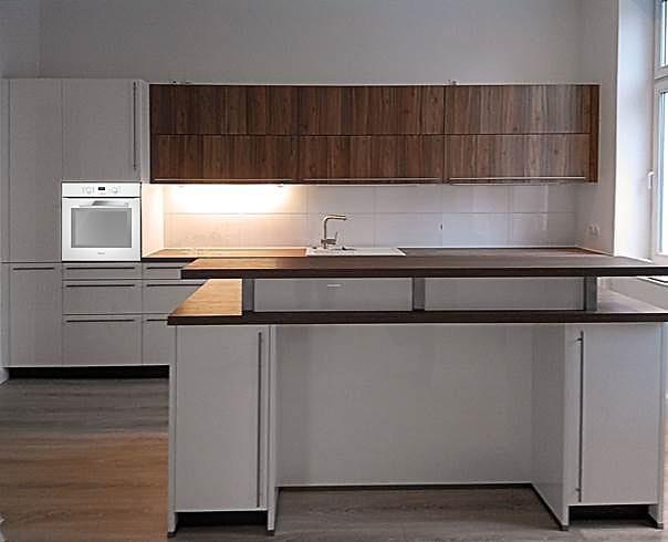 bauformat musterk che k chentraum in wei hochglanz lack ausstellungsk che in rostock von. Black Bedroom Furniture Sets. Home Design Ideas