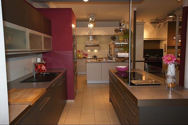 h cker musterk che moderne einbauk che 2 zeilig mit. Black Bedroom Furniture Sets. Home Design Ideas